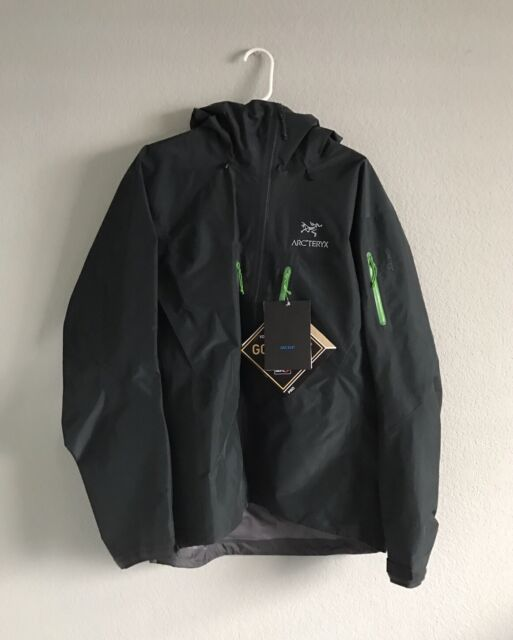 Arc'teryx Alpha SV Jacket Goretex Pro Size Large Odysseus Waterproof Retail $749