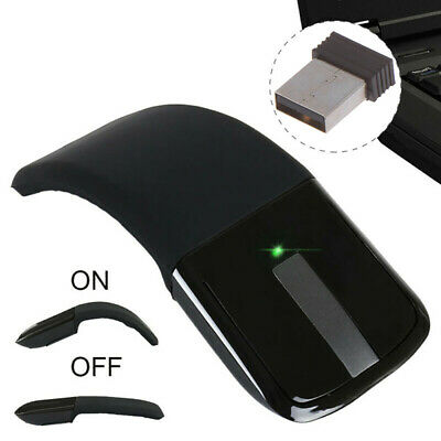 Wireless Mouse Foldable Folding Arc 2.4Ghz Touch Gaming Microsoft Surface PC