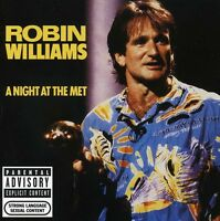 Robin Williams - Night At The Met [new Cd] Explicit on Sale