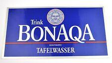 Grande Coca Cola bonaqa Germania 25 x 13 cm Adesivo Sticker Decal GERMANY