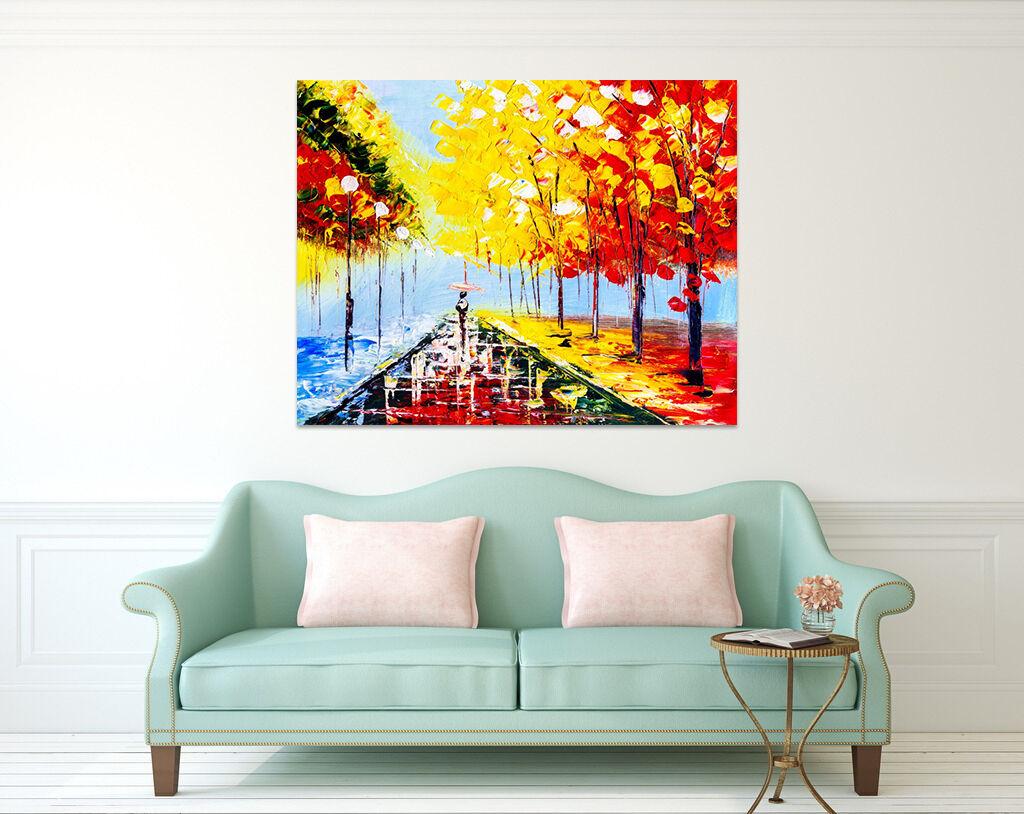 3D Herbst Wald 423 Fototapeten Wandbild BildTapete AJSTORE DE Lemon