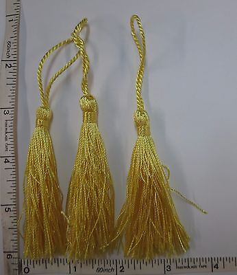 "3/"" Fiber Tassel Trim Chainette Fringe Tassel Decoration Drapery Sew Notion 10pcs"