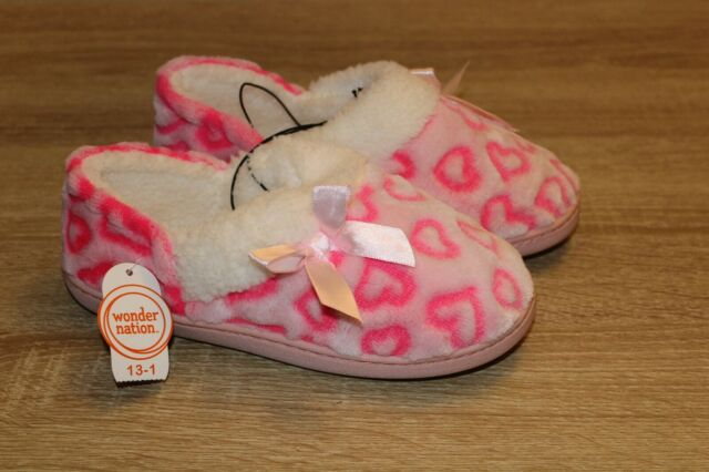 Toddler Slippers // House Shoes Adorable New with Tags Girl/'s sz: 11//12
