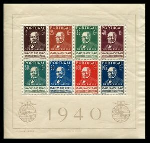 Portugal-Hojas-bloque-Ano-1940-numero-00002-Centenario-del-Sello