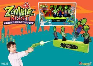 Zombie-Blast-Game-Interactive-Target-Shooting-Set-Play-Gun-Dragon-I-toys-Genuine
