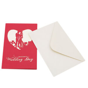 Details About 3d Handmade Diy Greeting Card Evening Party Invitation Card Gifts N7