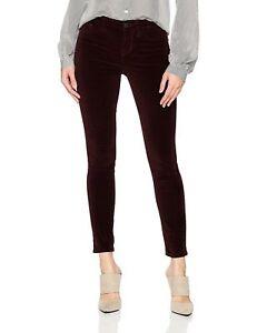 Pant Skinny Nwt 29 Sz Ankle Velvet Jeans Merlot Midrise Joe's Jean 198 Ikonet XWXq8Rx1wa