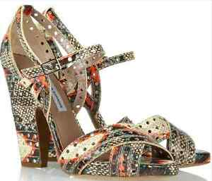 Tabitha Simmons Fillippa Snakeskin Sandals clearance professional best prices sale online 7XcHJu