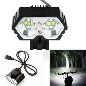 6000LM-2-X-XM-L-T6-LED-USB-Waterproof-Lamp-Bike-Cycle-Bicycle-Headlight-Light