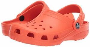 Crocs Classic Unissex tamanco-Tangerina