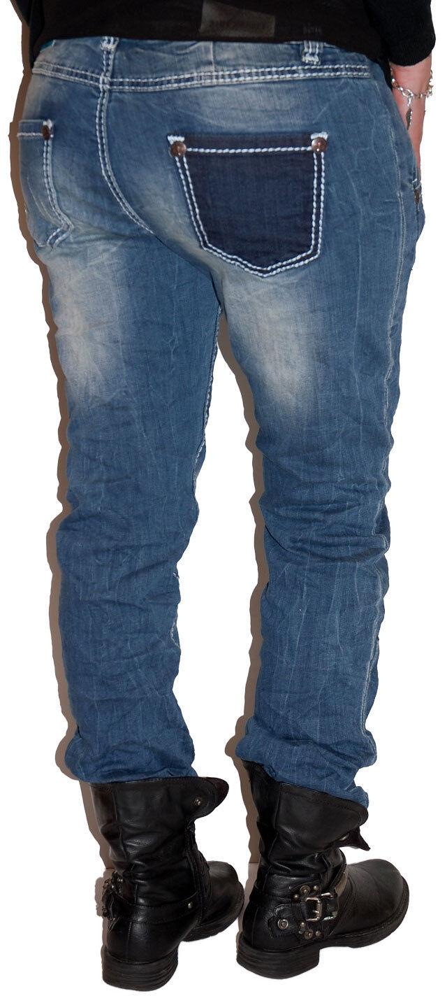 Blau Monkey Jeans Damen BM-T4287