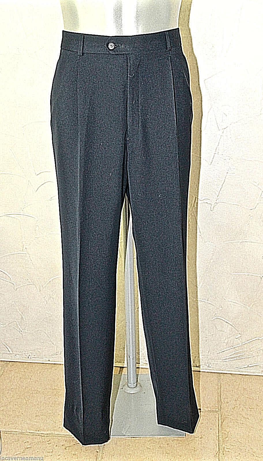 Pantalones pinza marina bcbg muy elegante LACOSTE talla 46 (I 54) COMO NUEVO