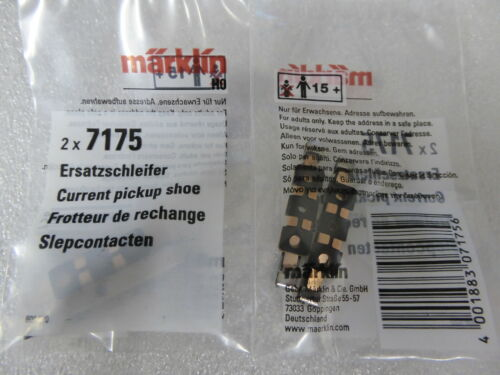 Märklin H0 7175 Schleifer 2 x Ersatzschleifer Orginal Ersatzteil  Neuware