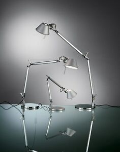 Artemide Tolomeo Mini Table Lamp With Base A005910 A008600 Ebay