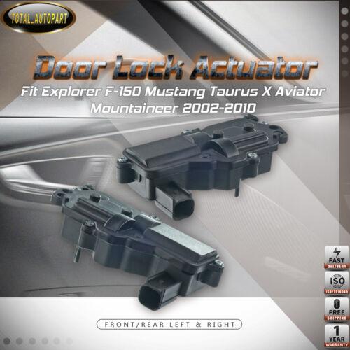 2x Door Lock Actuator for Explorer F-150 Mustang Taurus X Mountaineer Left+Right