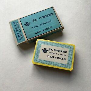 Vintage-El-Cortez-Las-Vegas-Hotel-Casino-Miniature-Playing-Cards-Sealed-Unopened