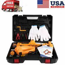 3 Ton Car Electric Jack Hydraulic Floor Lift Jack Repair Dc 12v Replace Tire