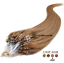 50-100-150-200-EXTENSIONS-POSE-A-FROID-CHEVEUX-NATURELS-REMY-53-60CM-0-5G miniature 9