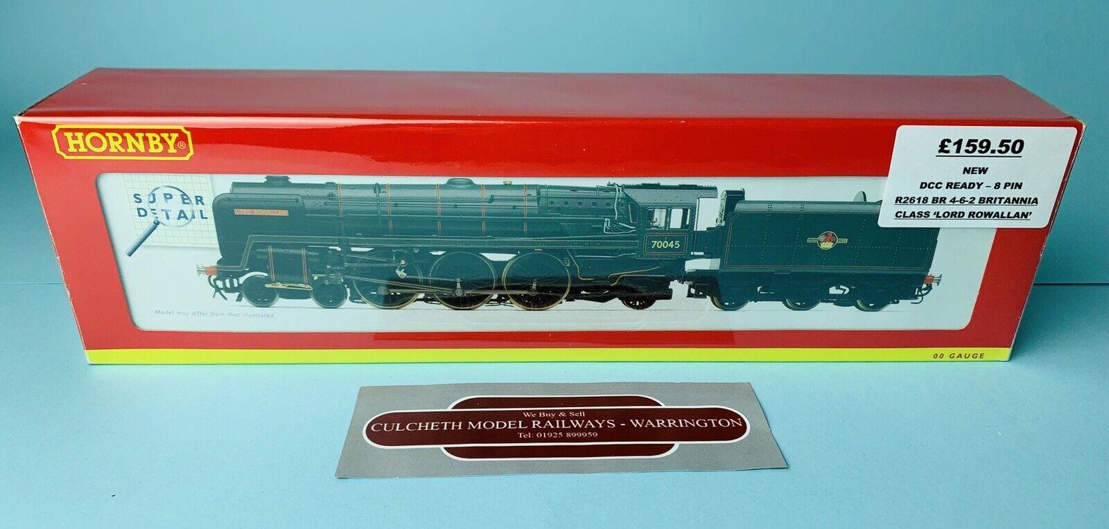 HORNBY 'OO' GAUGE R2618 BR 4-6-2 BRITANNIA CLASS 'LORD ROWALLAN' LOCO NEW BOXED
