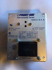 Power One Had15 04 A Power Supply International Series 30h73