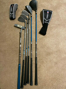 Us Kids Left Handed Ul 48 Wt 20 Junior Golf Club Set 6 Clubs Bag Ebay