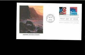 2002-First-day-Cover-Cary-Sea-Coast-Washington-DC