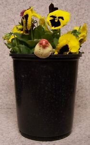 Flower Pot Hugger Gnome medium #1 NEW colored polystone