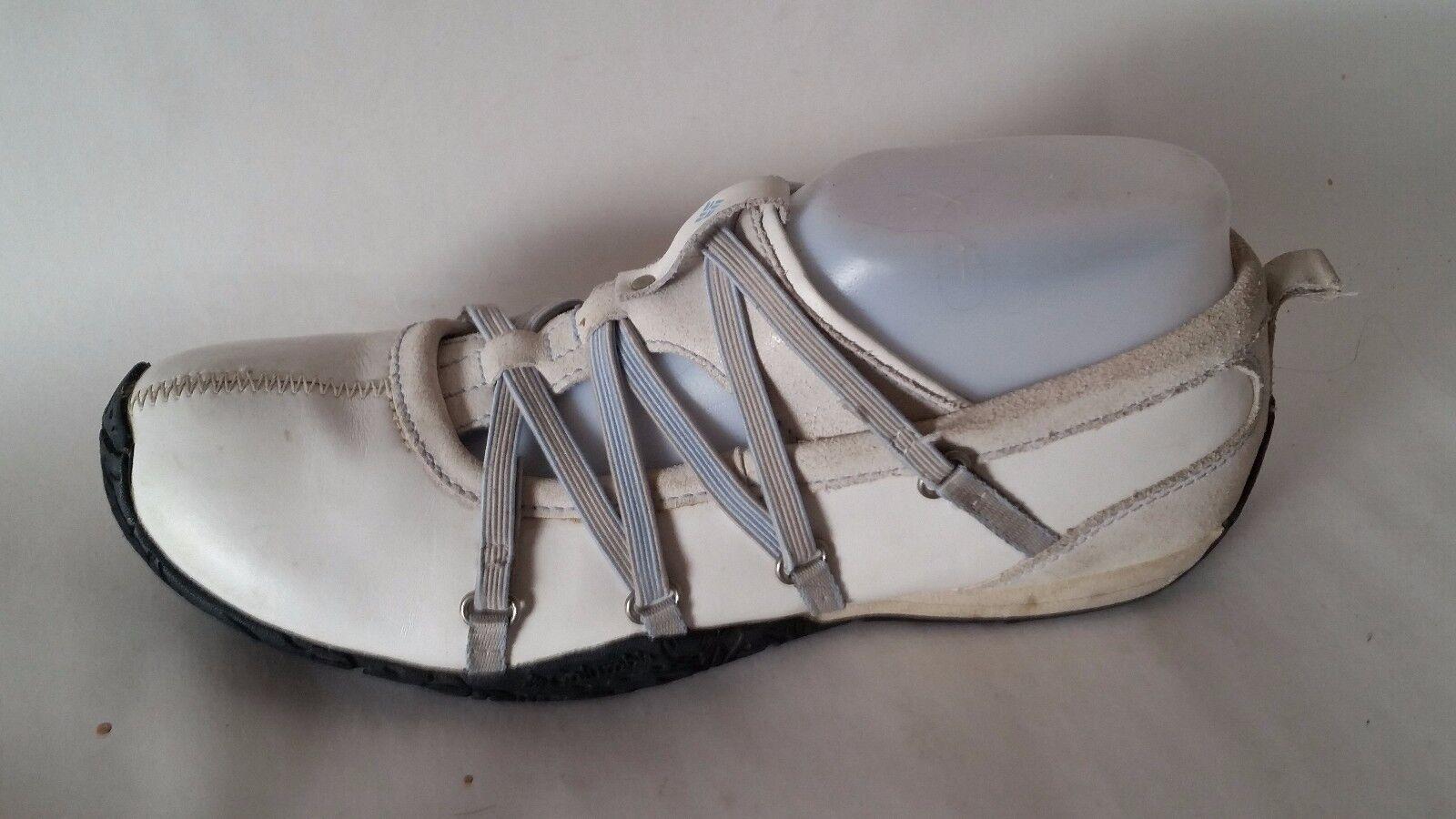 columbia graci 2 du cuir blanc de glisser sur marche les chaussures de marche sur  s 8 med basket s bleues a8d216