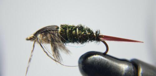 14 /& 16 12QTY ZUG BUG FLY Fishing Flies size 10
