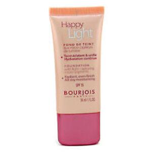 Bourjois-HAPPY-LIGHT-SPF15-Foundation-11-Rose-Brand-New-Sealed