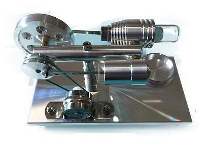 Stirling motor Heißluftmotor sehr stabil Stirlingmotor Generator Modell Geschenk