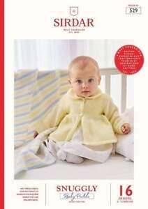 Sirdar Baby Pastels DK Book 529  16 designs 0 - 12 months 0UR PRICE: £9.25