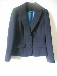 Austin Reed Ladies Black Smart Work Jacket Lined Uk Size 10 Ebay