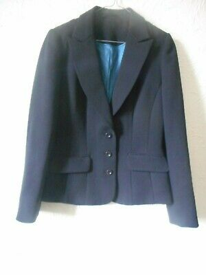 Austin Reed Ladies Black Smart Work Jacket Lined Uk Size 10 Ebay