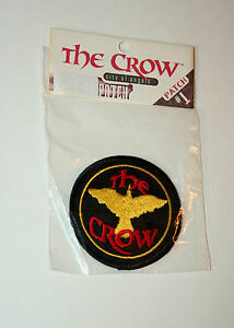 2-The-Crow-City-Of-Angels-Movie-Cloth-Patch-New-NOS-MIB-1996-Kitchen-Sink-Comics