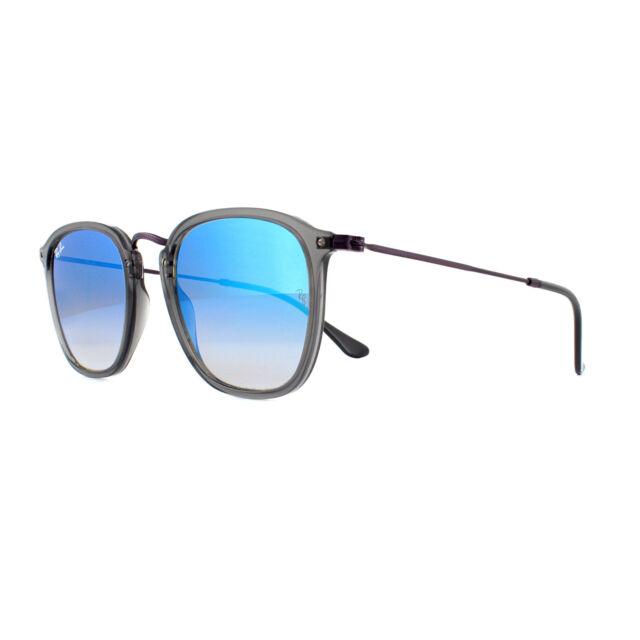 49e96c7b8 Ray-Ban Sunglasses 2448N 62554O Transparent Grey Blue Flash Gradient