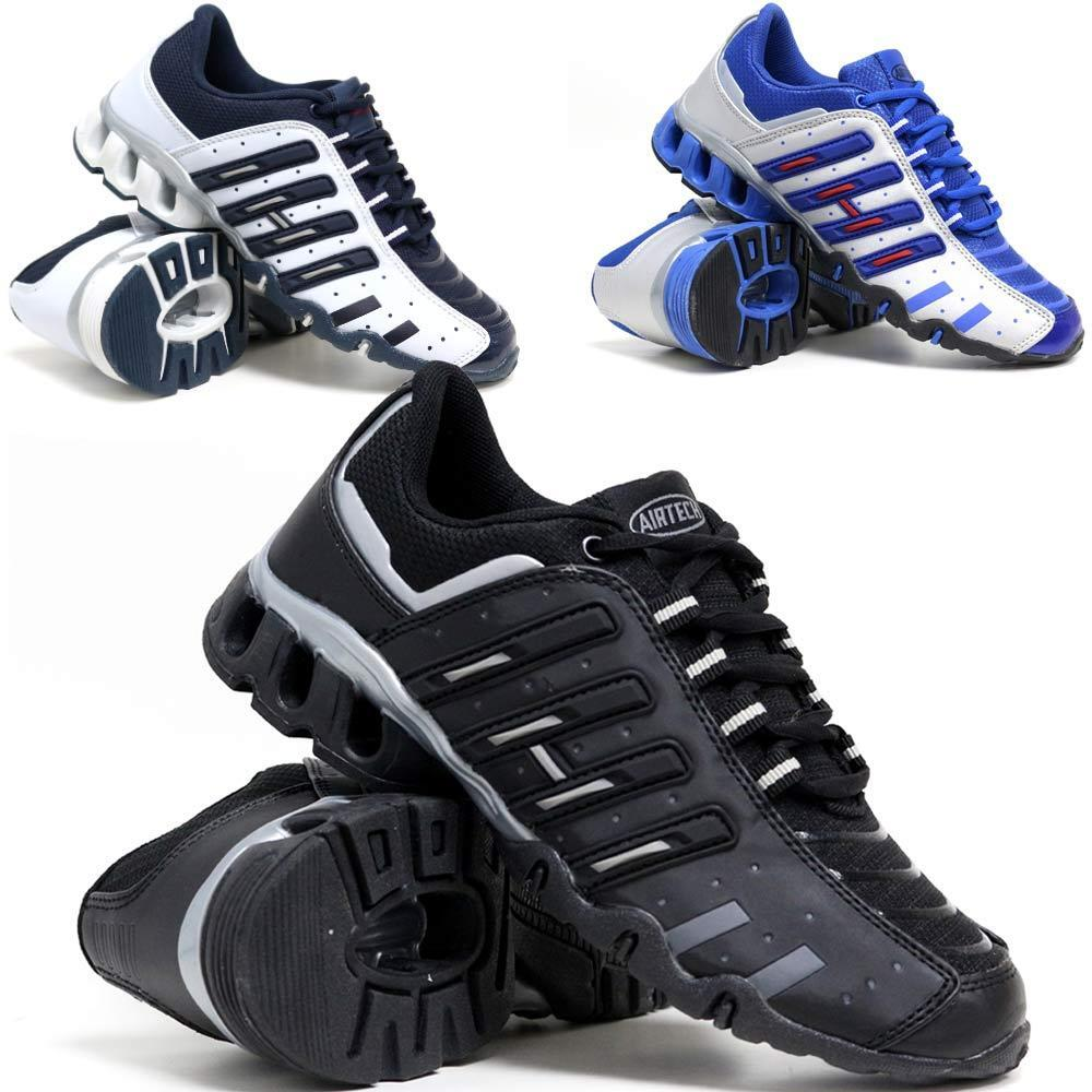 MENS RUNNING TRAINERS ABSORBING BOYS GYM WALKING SHOCK ABSORBING TRAINERS SPORTS FASHION SHOES SIZE e5bc1b