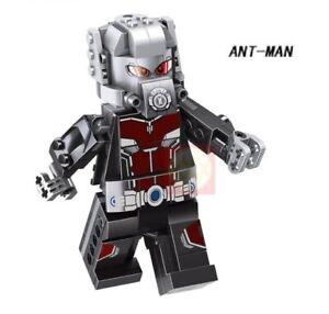 Janet van Dyne Wasp Marvel Superhero Mini Action Figure Toy Avengers Lego Moc
