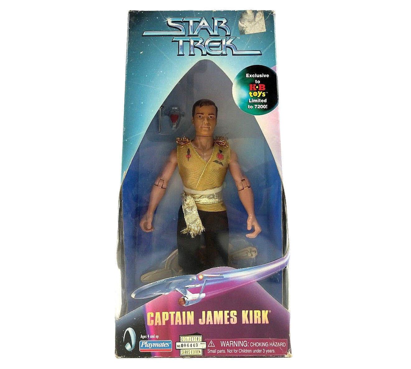 Star Trek Captain Captain Captain James Kirk 9 Inch Mirror Mirror Figure Kay Bee Limited Figure 76463a