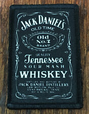 Jack Daniels Whiskey Morale Patch Military Tactical Army Flag USA Hook Badge