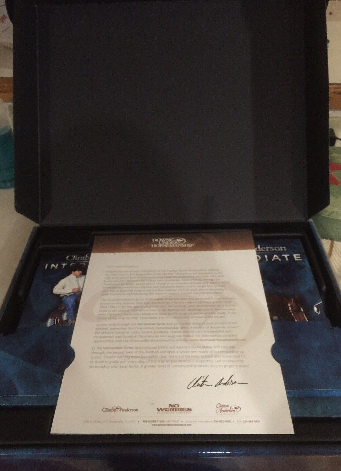 AUTHENTICBrand New Clinton Anderson Intermediate Kit-+extras