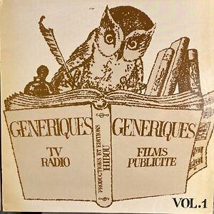 french disco jazz funk Library LP GENERIQUES Vol. 1 ♫ Hibou MP3 Synth Breaks VA