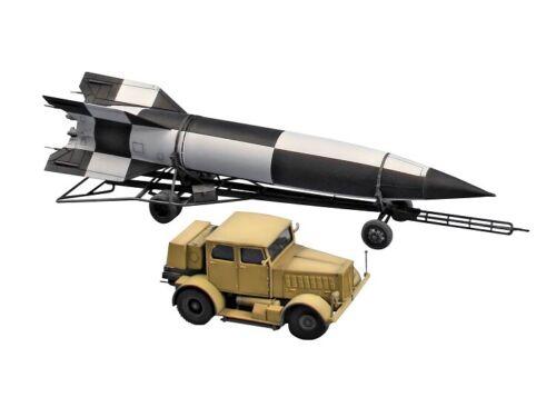 Transporter Revell 03310-1//72 Hanomag SS-100 Gigant V2 Rakete Neu