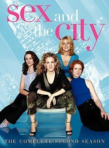 Brand-New-DVD-Sex-and-the-City-The-Complete-Second-Season-Kim-Cattrall-Kristin