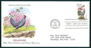 CoopéRative États-unis Fdc 1982 Oiseaux & Plantes Delaware Oiseau Birds Bird Plant Oiesaux Cl73-afficher Le Titre D'origine
