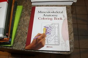 MOSBY Adult Musculoskeletal Anatomy Manual Therapy Coloring Book ...