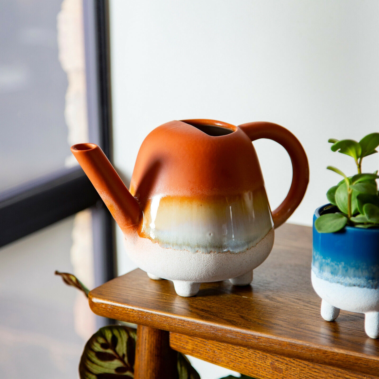 Small Watering Can - Indoor - Mojave Glaze Terracotta - Brand New & Boxed