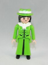 Playmobil Puppenhaus Villa Nostalgie Lady grünes Kleid 5301 5300 5305 #33787