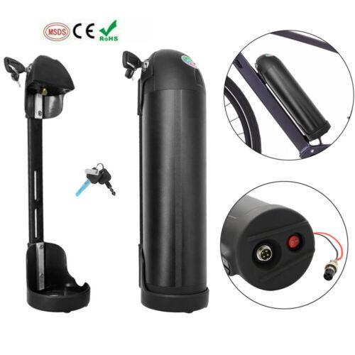 36V 10Ah 250W 350W Li-ion Lithium Battery for Electric Bicycle E-Bike w// Holder