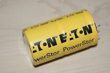 400 Farad 27 Volt Eaton Supercapacitor Powerstor Capacitor New 1 Pc 400f